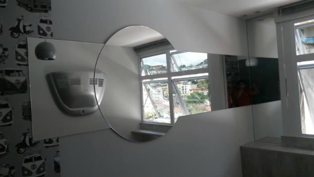 espelhos com formas
